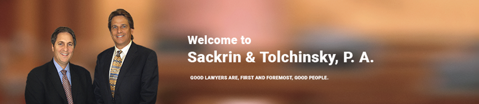 Alan and Larry Welcoming Visitors to their Fort Lauderdale Slip and Fall Lawyer Page